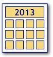 MUG Event Calendar 2013