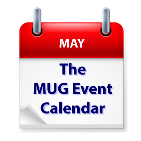 The MUG Event Calendar for the Week of May 20: Ken Ray, August Trometer, Blackmagic Design, Podcasts, - The MUG Center