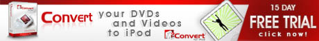 Convert you DVDs and Videos to iPod