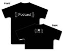 iPodcast t-shirt