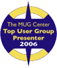 Top User Group Presenter