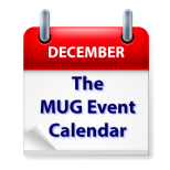 The MUG Event Calendar